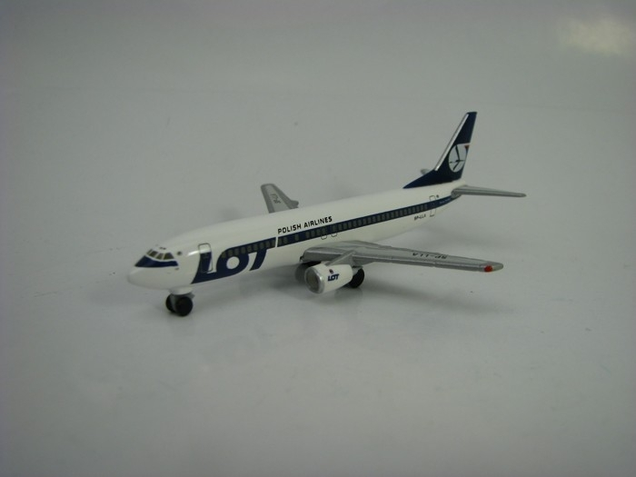 Boeing 737-400 LOT Polish Airlines 1:500 Herpa